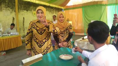 Usai Nyoblos, Istri Cabup Jombang Nyono Optimis Menang