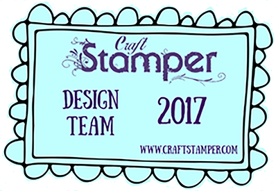I design for The Craft Stamper