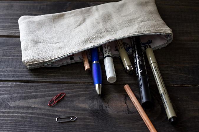 DIY | KSW | Kreative Stoffverwertung | Kosmetiktasche Federpenal Kulturbeutel Schminktäschchen selber nähen