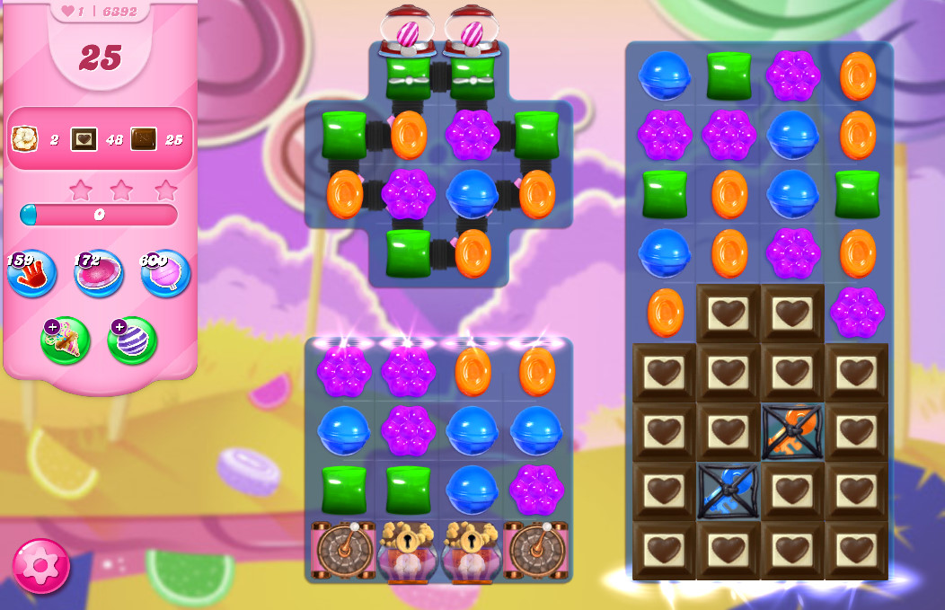Candy Crush Saga level 6392