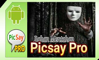kumpulan bahan mentahan picsay pro