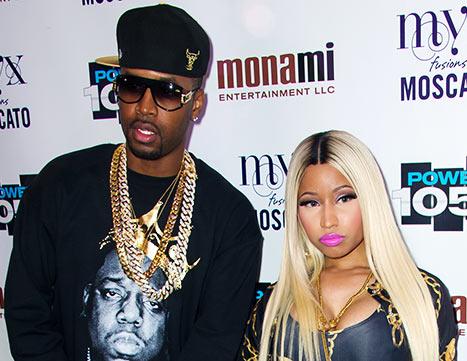 Nicki Minaj acusa a Safaree Samuels, su exnovio, de extorsión y robo.