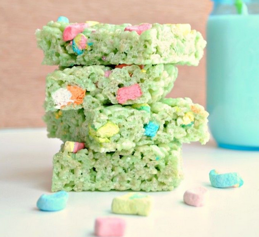 Green St. Patrick's Day Treat Ideas
