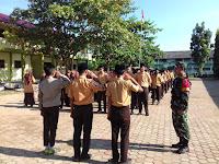Lewat Program 'Mulawarman Peduli' Babinsa Koramil 07 Amteng, Jumpai Siswa