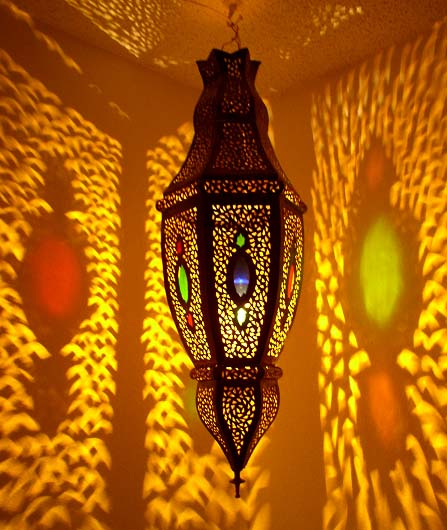 moroccan decor: moroccan lanterns and lamps part 4