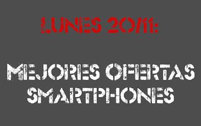Selección de ofertas en móviles libres 20 de noviembre de 2017