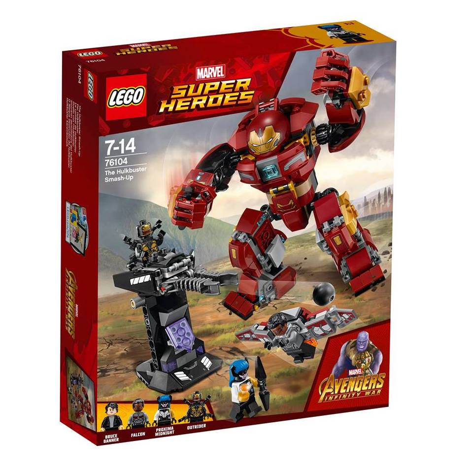 These LEGO Playsets for AVENGERS  INFINITY WAR might or might not ... 41642dacdac6