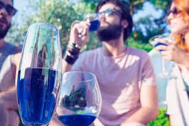 blue wine trend
