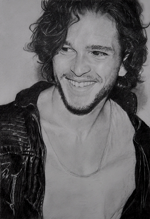 08-Kit-Harington-ekota21-Very-Detailed-Celebrity-Portrait-Drawings-www-designstack-co