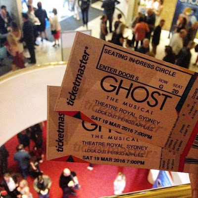 Ghost the Musical Sydney Australia Review and Tickets