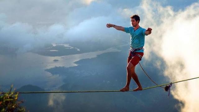 Cliff Swing Jogja - Usir Stres di Kota Gudeg, Olahraga Ekstrem Ini Bisa Jadi Pilihan