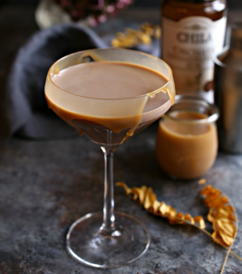 Cocoa-Caramel-Cocktail