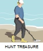 HOW TO HUNT FOR TREASURE
