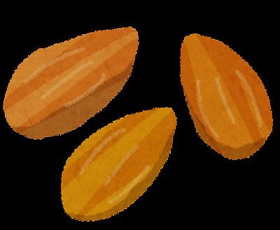 アーモンドナッツのイラスト