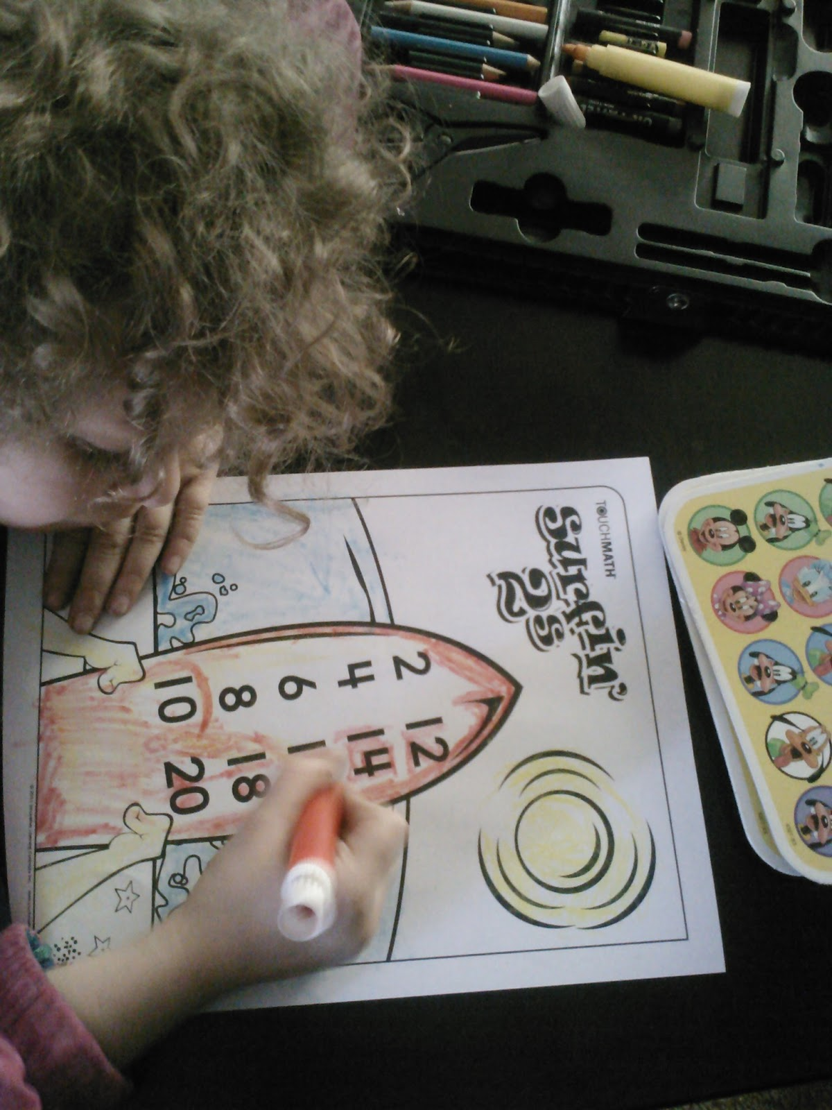 Homeschool Connection Touch Math Review