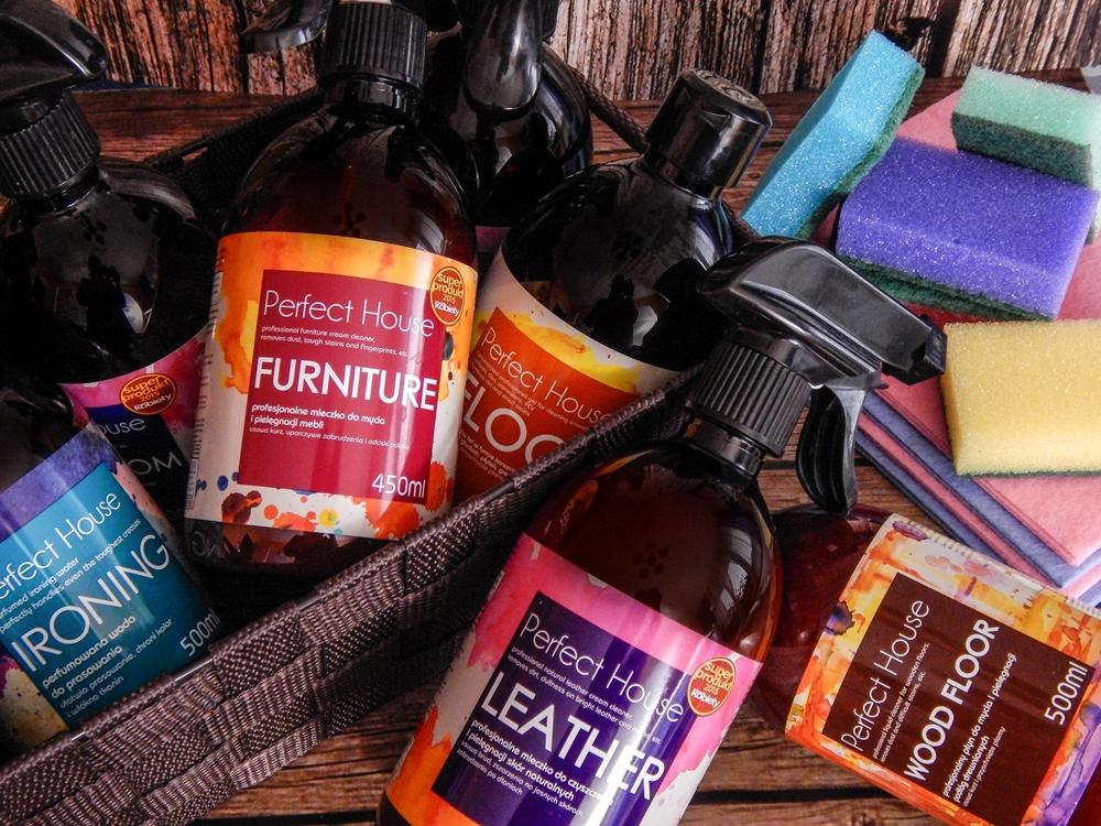 1 barwa perfect house kosmetyki do pielęgnacji domu porady na wiosenne porządki perfumowana woda do prasowania recenzja melodylaniella płyn do mycia podłóg specyfiki do mebli do czyszczenia do sprzątania skóry