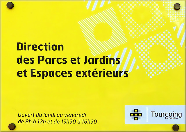 Horaires d'ouverture - Direction Parcs et Jardins, Tourcoing