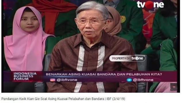 Cerita Kwik Kian Gie Beri Peringatan ke Megawati sebelum Penjualan Indosat: Tak Dihiraukan