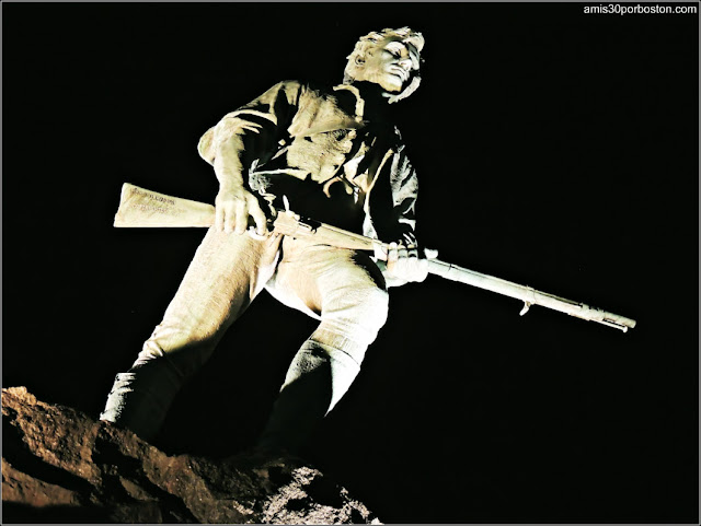 Estatua del Minuteman en Lexington, Massachusetts