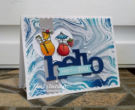 Hello Here's to you by Emily features Cocktail Mixer by Newton's Nook Designs; #newtonsnook