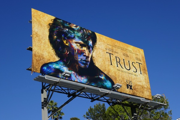 Trust series premiere billboard