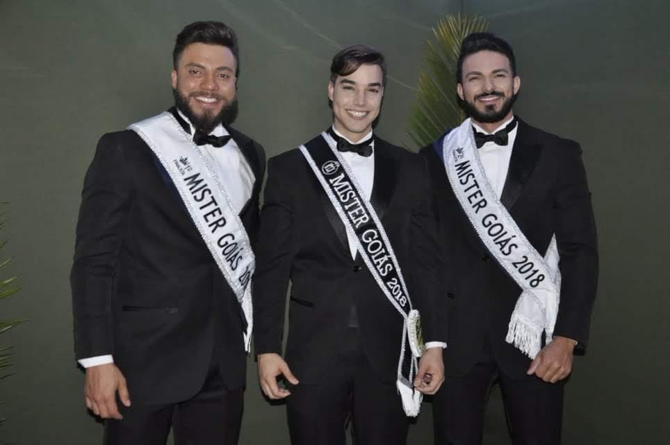 Finalistas do Mister Goiás 2018. Foto: Carlos Robert