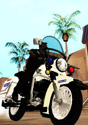 Free Download GTA V Copbike Malaysia Police Mod for GTA San Andreas.