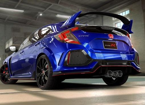 Design Belakang Honda Civic Tipe R