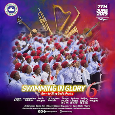 PROPHESIES : SWIMMING IN GLORY 6 - BORN TO SING GOD'S PRAISE