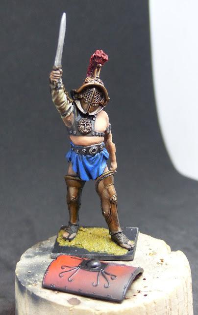 Résolutions^^! Figurines à finir, motivation à relancer! Gladiateur%2Bwip
