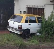Posadas :Taxista perdió el control y chocó contra una casa