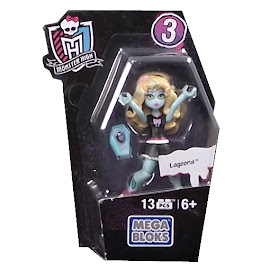MH Ghouls Collection 3 Lagoona Blue Mega Blocks Figure
