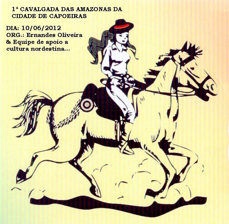 Angelimcom 1ª Cavalgada Das Amazonas De Capoeiras Pe