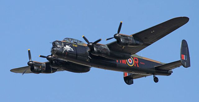 Avro Lancaster similar to the one which crashed on Beinn Eighe