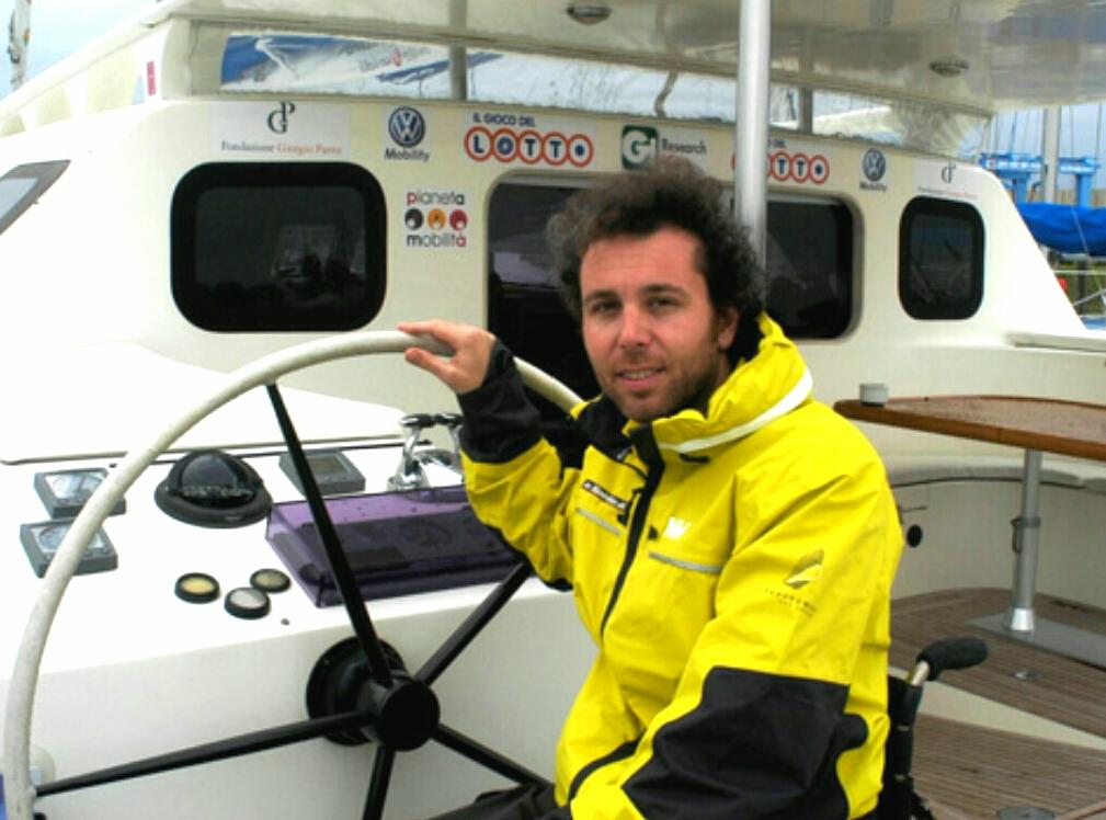 Un catamarano per disabili. Pronto il progetto di Andrea Stella