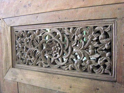motif ukiran khas pulau sumbawa