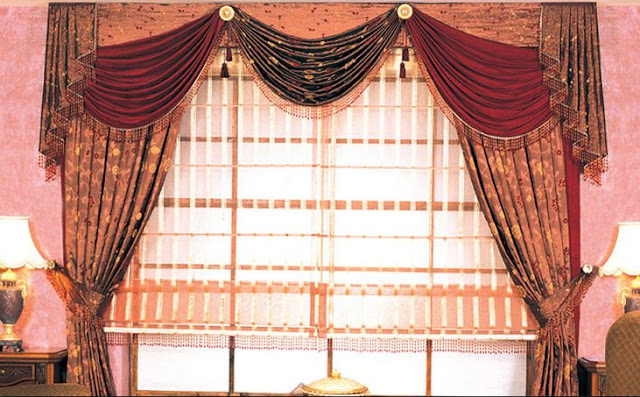 Best awesome contemporary curtain designs 2016 curtain ideas colors, red and brown curtains