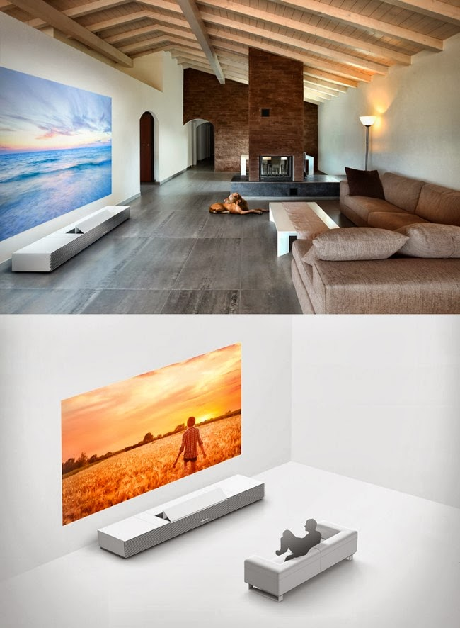 Sony Ultra short-throw projector