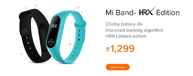 Redmi Diwali sale – 'DIWALI WITH Mi' - MI Band HRX Edition
