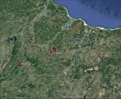 Tremor de terra próximo à Caraúbas foi registrado em Pau dos Ferros