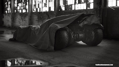 Ben Affleck Batmobile design Zack Snyder
