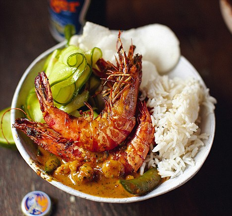 Food For Thought A Recipe Collection Thai Red Prawn Curry