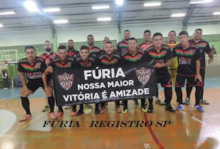 Fúria Futsal de Registro-SP, é Campeã do 1° Inter Municipal de Futsal em Cajati