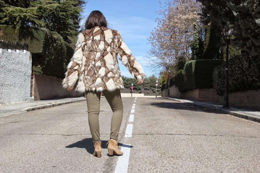 DIY Costura: Tutorial y patrones gratis Abrigo de Pelo para mujer