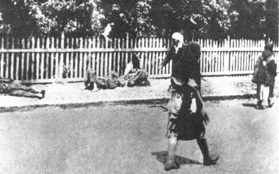 Stalin mandou matar de fome milhoes de ucranianos. Foto ruas Jarkov, Ucrania