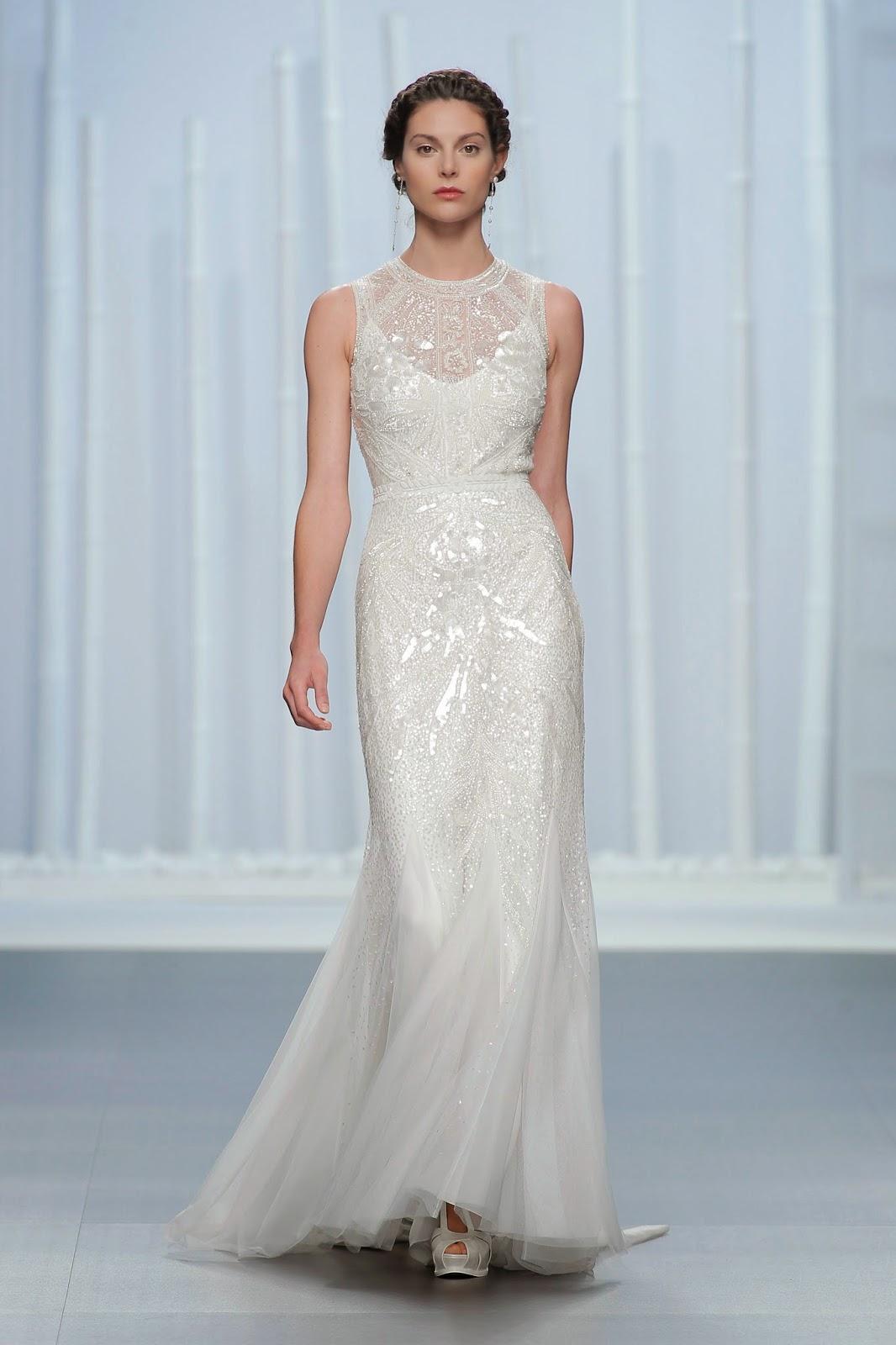 BODAS DE ALTA COSTURA: La nueva colección de vestidos de novia Rosa ...