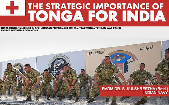 FEATURED | The Strategic Importance of Tonga for India