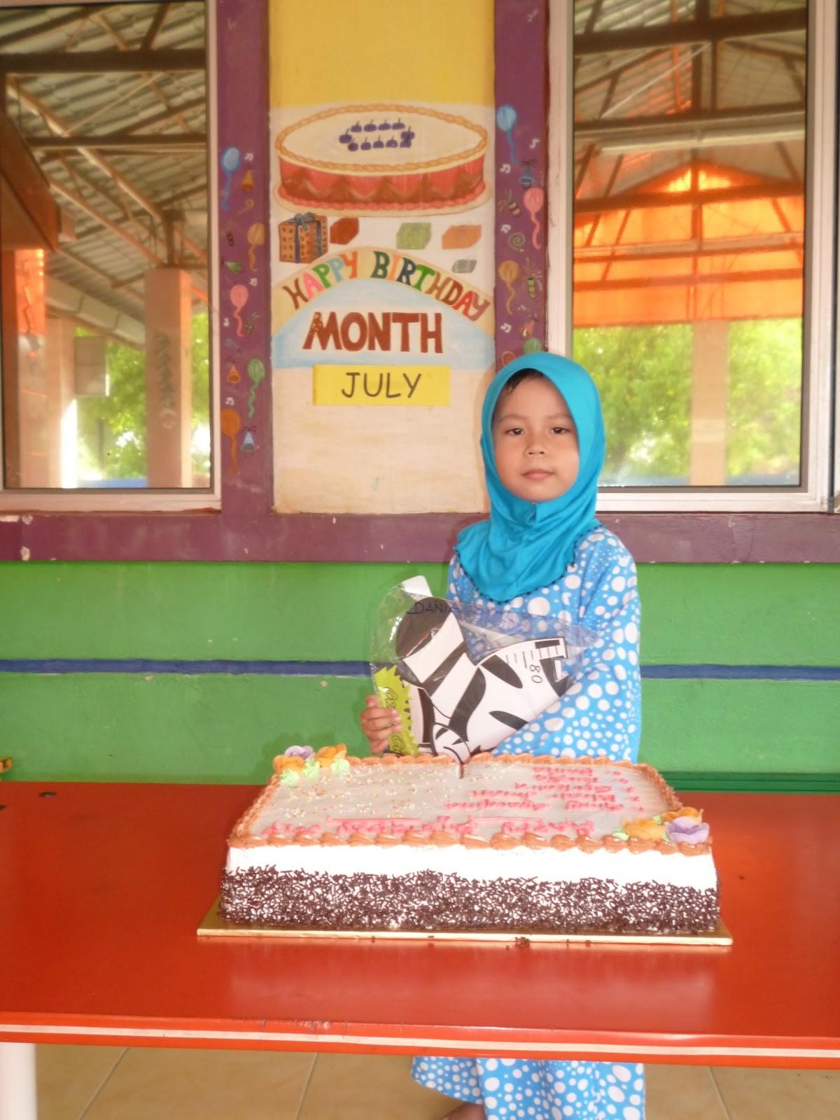 Tadika Tunas Ceria Bestari: BIRTHDAY OF THE MONTH: JULY 2013