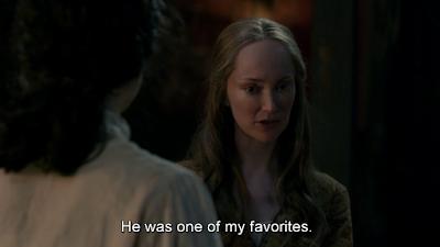Geillis en el 3x13 de 'Outlander'