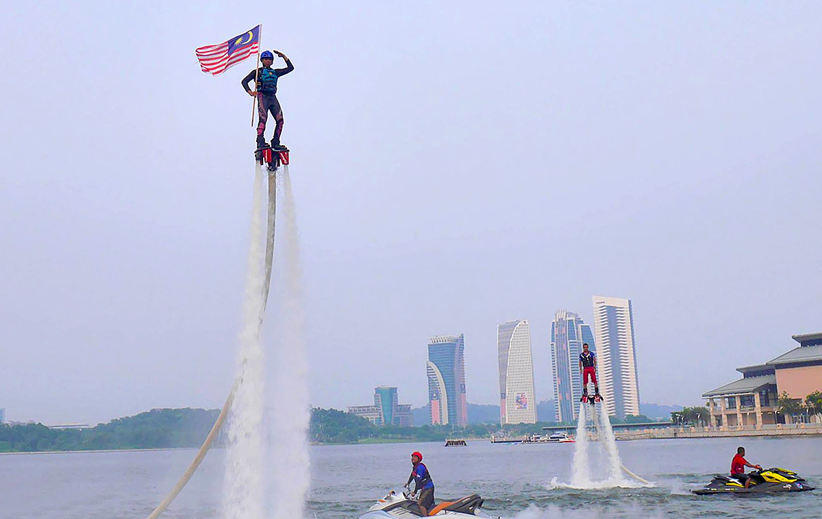 Image result for flyboard putrajaya